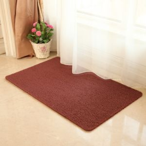 Non-Toxic PVC Coil Floor Mat Bathroom Shower Rug pictures & photos