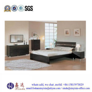 White Color Single Bed Melamine Bedroom Furniture From China (SH041#) pictures & photos