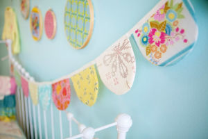 Fabric Bunting Shabby Chic Wedding Party Vintage Decoration Flags pictures & photos