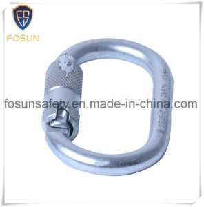 Steel Auto Locking Oval Shape 23kn New Carabiner pictures & photos