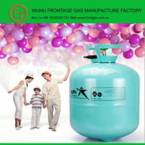 Balloon Gas Disposable Cylinder Helium Tank pictures & photos