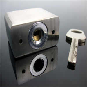 Square Type Stainless Steel Vane Key Padlock for Power System pictures & photos