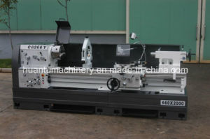 Horizontal Bench Lathe Machine for Steel Processing pictures & photos