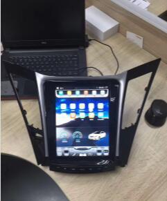 Android 2 DIN Car DVD for 12.1in Vertical Hyundai Sonata
