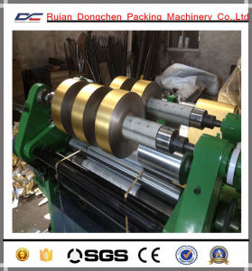Surface Type Slitting Rewinding Machine for 10mm Pptu Roll (DC-SF700) pictures & photos