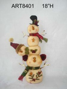 Button Legged Snowman Christmas Tree Ornaments, -3asst. pictures & photos