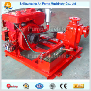 Centrifugal Irrigation Diesel Engine Self Priming Water Pump pictures & photos