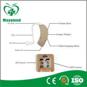 My-G057A-6 Programmed 2 Channel Digital Trimmer Hearing Aid Mini Sound Amplifier pictures & photos