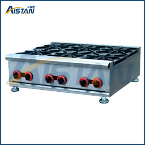 Gh6a Gas Range with Burner for Restaurant Use pictures & photos