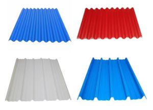 Colorful PVC Roof Tile Company pictures & photos