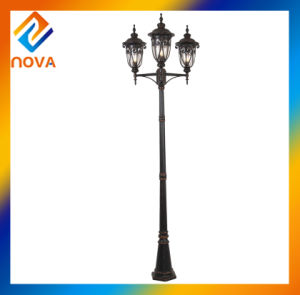 New Style and High Quality Arrival Outdoor Street Light Pole pictures & photos