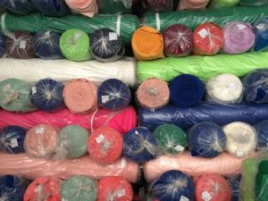 Lycra Heavy Stretch Dyed Fabric Rolls Stocks pictures & photos