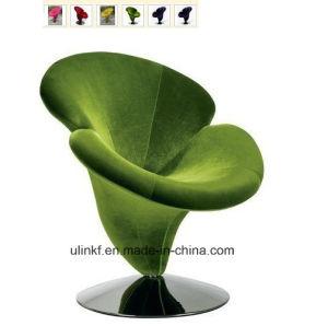 Elegant Flower Design Fabric Leisure Bar Chair Stools (UL-LS519) pictures & photos