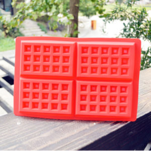 Food Grade Silicone Waffle Mould pictures & photos