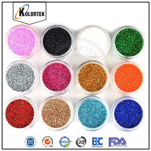 Glitter Flakes Nail Art Powder, Colorful Glitter for Sale pictures & photos
