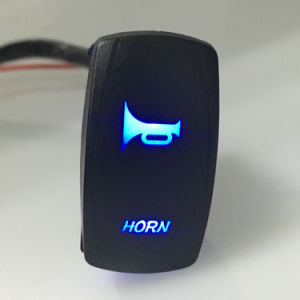 Laser LED Light Bar Rocker Switch with Horn Picture pictures & photos