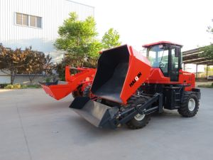 Strong Self Loading Dumper (HQ40Y) with Ce, SGS pictures & photos