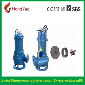 Non-Clog Waste Water Centrifugal Submersible Pump pictures & photos