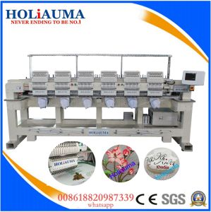 Hot Sale Six Head Embroidery Machine Price Cheap High Quality Tubular Cap Unform Embroidery Machine pictures & photos