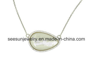 Fashion 925 Silver Jewelry Necklace with Shell for Women pictures & photos