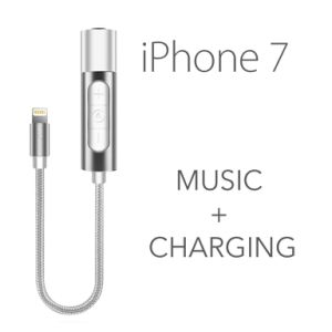 Lightning to 3.5mm Headphone Jack and Charger Adapter for iPhone 7/7 Plus pictures & photos
