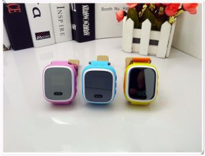 GPS Sos Tracker Anti Lost Monitor Baby Gift Q60 Kid GPS Smart Watch pictures & photos