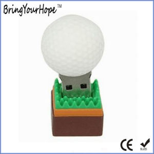 Golf Ball Design USB Pen Drive (XH-USB-113) pictures & photos