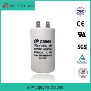High Quality Metalllized Film Cbb65 Cbb61 Cbb60 Capacitor pictures & photos