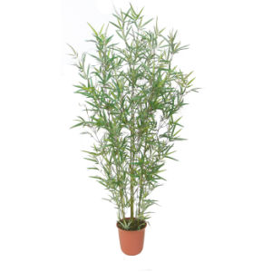 Artificial Bamboo Plants with Plastic Stem