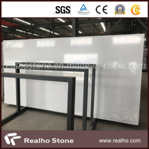 Big Slab Snow White Pure White Artificial Quartz Stone for Countertops