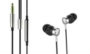Classic Blackcolor! OEM HiFi Headset Sport in-Ear Earphone, Promotional Cheap Hi-Fi Earphone