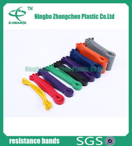 New Style Thin Exercise Resistance Band Loop Resistance Bands pictures & photos