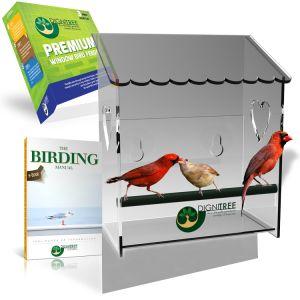 Clear Creative Bird Animal Nest House Bird Feeder pictures & photos