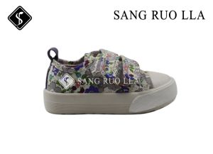 Hot Selling Comfortable Kids Canvas Stock Shoes pictures & photos