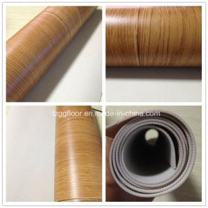 Factory Wooden Grain Plastic Laminate Flooring for House Decoration pictures & photos