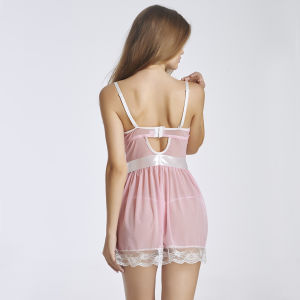 2017 Latest Babydoll Lingerie Sexy Nighty for Honeymoon pictures & photos