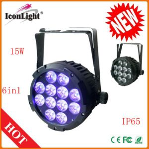 Outdoor 12X15W RGBWA+UV PAR Light for Stage with Ce pictures & photos