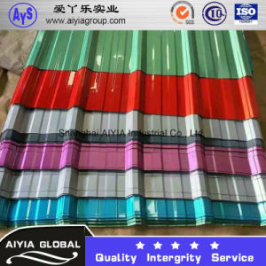 PPGL /Pre Painted Galvalume Corrugated Iron Sheet /Roofing pictures & photos
