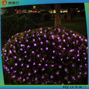 Flower Shape String Curtain Light Waterproof LED Christmas Decoration Light pictures & photos
