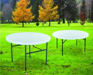 Hot Sale Round Folding Garden Table with Chairs pictures & photos