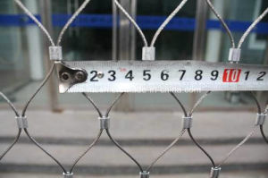 Stainless Steel X-Tend Wire Rope Mesh/Handwoven Rope Mesh pictures & photos