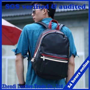 2016 Korean Men Fashion Leisure Backpack Backpack Chaonan Skin Youth College Students Air Bag pictures & photos