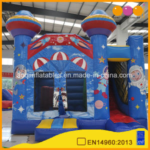 Toddler Bounce House Astronaut Inflatable Jump Combo with Slide (AQ01222) pictures & photos