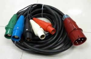Power Cable with 63A C Form to 400A Camlock pictures & photos