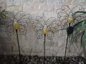 Metal Tube Crafts with Solar Power Light pictures & photos
