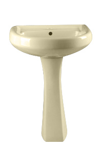 P02 Twyford Sanitary Ware, Basin with Pedestal Hot Sales in Caribbean Market pictures & photos
