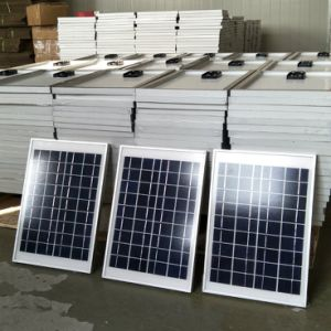 Small Poly Solar Panel 5W 9V/18V for Lighting Use pictures & photos