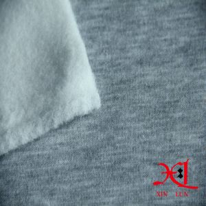 Knitted One Side Polar Fleece Fabric for Garment/Suits pictures & photos