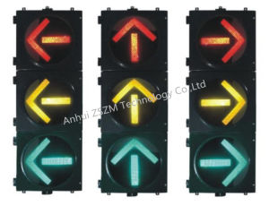 En12368 Approved 200/300/400mm High-Power Arrow Traffic Light pictures & photos
