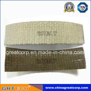 White Color Resin Based Woven Brake Lining Roll pictures & photos